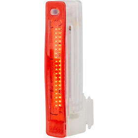 Knog Plus Luz Trasera LED, red/translucent